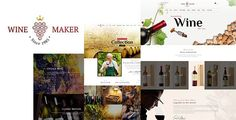 Wine Maker - Wine, Winery Theme by designthemes Welcome to Winery theme from Designthemes.Winery theme is specially designed for all the wineries, wine shops & bars, pubs, online
