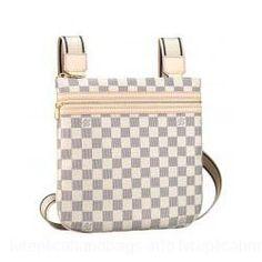 Louis Vuitton Damier Canvas Handbag LV N53691