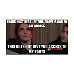 My Chemical Romance clipped by Alyssa[Acid Angel] ❤ liked on Polyvore featuring mcr, gerard way, my chemical romance, bands and mikey way
