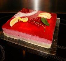 Recette - Entremet framboise sur mousse chocolat blanc - Notée 5/5 par les internautes