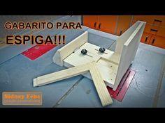 GABARITO PARA ESPIGA ( Tenon jig ) - YouTube