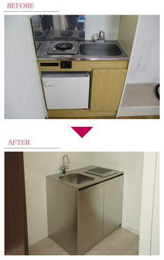キッチンを変更