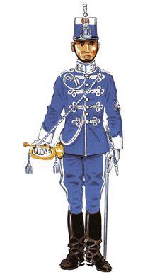 Cazadores de Treviño nº 26 1909-22 Trompeta media gala
