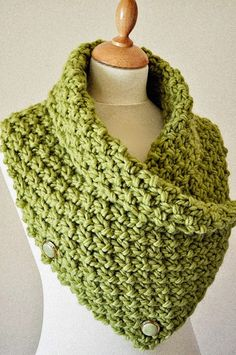 Knitting Pattern for Easy Chunky Knit Neck Warmer/Cowl - Textured cowl looks like its knit in moss stitch. Quick knit in super bulky yarn. Rated easy by the designer. Designed by Arty Lou. Love Knitting, Knitting Stitches, Knitting Patterns Free, Knitting Yarn, Free Cowl Knitting Patterns, Finger Knitting, Needlepoint Stitches, Crochet Scarves, Crochet Shawl