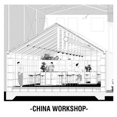 Project made in a small village in China (Denggao) where most of the population is growing old and the young are moving into bigger cities. This proposal tryes to solve the future of Denggao by 1)R…