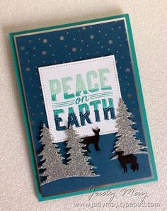 Stampin' Up! Carols of Christmas for The Heart of Christmas - Judy May, Just Judy Designs