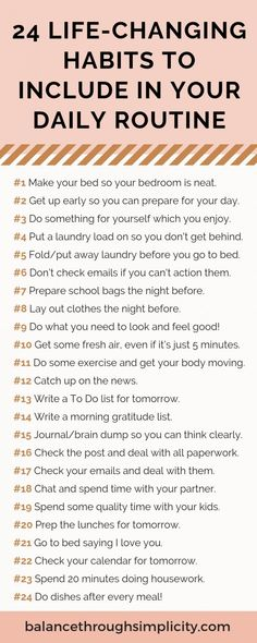 24 life-changing habits to include in your daily routine 24 life-changing habits to include in your daily routine Rayowag self-care 038 creativity rayowag personal development productivity Would nbsp hellip lifestyle daily routines Self Care Activities, Toddler Activities, Good Habits, Self Improvement Tips, Self Care Routine, Self Development, Personal Development, Best Self, Better Life