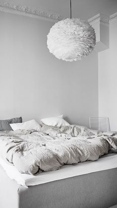 Bedroom inspiration   Vita Eos Light Shade available at www.istome.co.uk