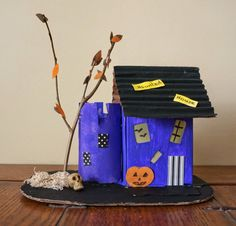 that artist woman: Little Haunted Houses
