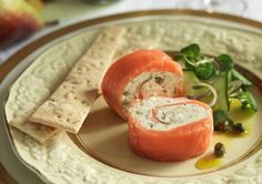 Salmon Log with Capers, Lemon & Chili Top Recipes, Salmon Recipes, Cooking Recipes, Healthy Recipes, Healthy Food, Appetizer Dips, Yummy Appetizers, Delicious Desserts