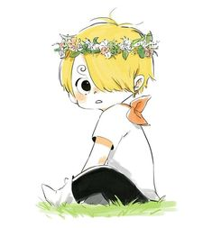 Vinsmoke Sanji Cute and sweet little one