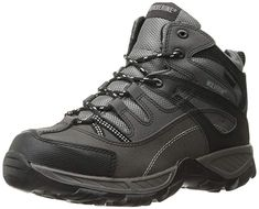 Wolverine Men's Bennett Steel-Toe ESD WPF Work Boot: Leather upper with wave mesh lining. Steel toe rated ASTM M EH. Steel Toe, Wolverine, Work Wear, Hiking Boots, Safety, Footwear, Black 13, Cement, Sneakers