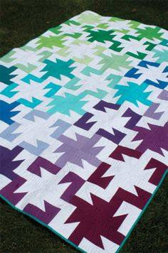 A Sparkler Paper Pattern - Freshly Pieced Quilt Patterns - 1