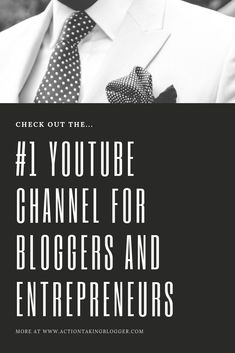 Do you want an awesome Youtube channel with tons of informative and actionable videos related to blogging, making money online, affiliate marketing, passive income, email marketing, side hustles, and more. #makemoneyonline #makemoneyblogging #affiliatemarketing