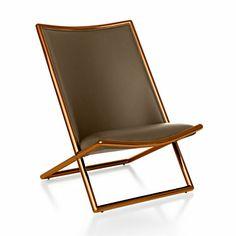 "Ward Bennett Scissor Chair Looks like Pair of Tapiovaara ""Congo"" Chairs"