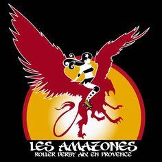 Les Amazones Roller Derby Aix en Provence  https://www.facebook.com/amazonesrollerderby