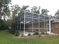 Aluminum Pool Screen Enclosure by Design Pro Screens, Inc.