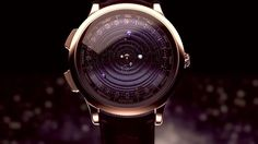 This watch puts beautifully rotating planets on your wrist