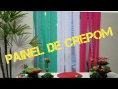Painel de crepom gastando menos de R$ 10,00 - YouTube