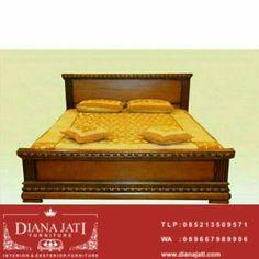 Tempat Tidur Jati Klasik Minimalis