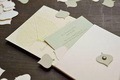 #Crush #Favini #Wedding #invitation #card on #Crush #kiwi / Design and #letterpress: @anonimaimp www.anonimaimpressori.it - Find more about #Crush http://www.favini.com/gs/en/fine-papers/crush/application-gallery/