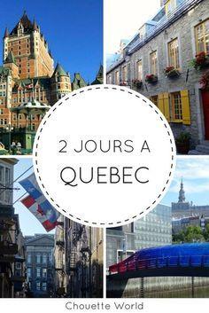 Visiter Quebec City en 2 jours : conseils et bonnes adresses #quebec #canada #quebeccity