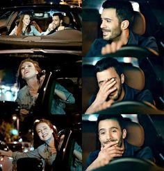 Scene Couples, Couples In Love, Turkish Men, Turkish Actors, Rosemary Beach Florida, Hayat And Murat, Drama Fever, The Best Series Ever, Elcin Sangu