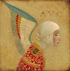 """Angel with epaulets"" by James Christensen, 2006"