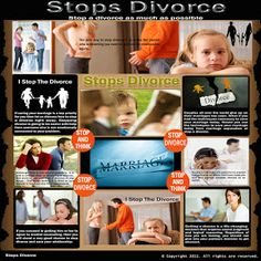 Visit our site http://stopsdivorce.blogspot.com/ for more information on Stop Divorce Now. You're marriage is seeing some tough times, everyone goes through a phase like this in their marriage. Let me emphasize however that most of the time divorce is not the answer and one or both sides of the marriage simply gives up and takes the easy way out. If you are reading this then you are taking a step in the right direction.