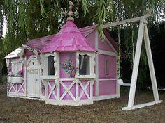 Project Princess Playhouse On Pinterest Princess Castle