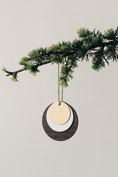 Wooden Jewellery - Circle from Ferm Living
