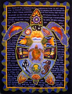 """Turtle Totem"" by Patty Hieb"