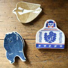 KATA KATA Inbante Small Ceramic Plates | UGUiSU Online Store