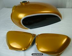 Honda cb 500 four k0 k1 candy gold