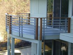 Image result for mid century modern deck rails