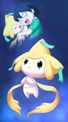 Max and Jirachi Pokemon Memes, Pokemon Fan Art, 3d Pokemon, Pokemon Pins, Pikachu, Mythical Pokemon, Cute Pokemon Pictures, Kawaii, Catch Em All
