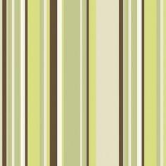 Papel de Parede Decoração Listrado Outlet Origini, pronta entrega, estoque limitado, importado, lavável, rolos de 10m x52cm, superfície lisa,  tons de verde, marrom e bege