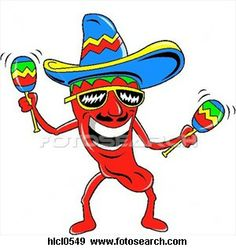 Clip Art Jalapeno Clipart jalapeno clip art cinco de mayo mariachi band with do you like soft or hard tacos both