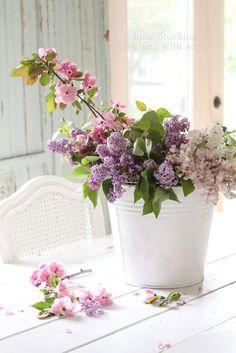 Sunshine, flowers, butterflies: the joys of spring.