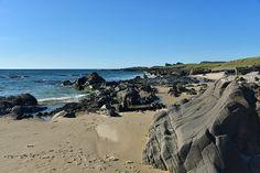 Saligo Bay coastline looking north, Isle of Islay