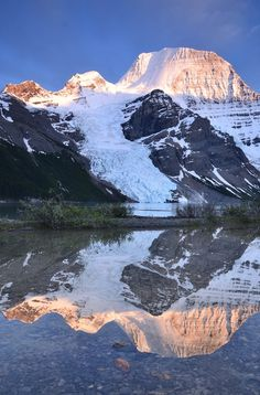 Berg Lake Reflection by ryanarmstrong - Image Of The Month Photo Contest Vol 11