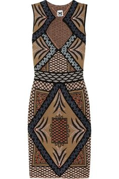 M Missoni|Patterned knitted dress