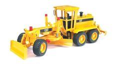 Bruder Toys CAT Caterpillar Kids Play Motor Grader The front levelling blade of the CATERPILLAR motor graders can be moved and detached. The grader can be steer Rc Hobby Store, Hors Route, Play Vehicles, Motor Grader, Thing 1, Skid Steer Loader, Lame, Heavy Equipment, Toy Store