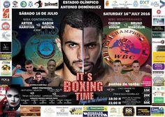 Salva la veu del Poble: Boxeo  título WBA Continental del peso ligero y WB...