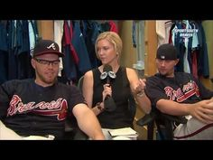 Freddie Freeman and Chris Johnson are BFF's Just another reason I love the Braves!