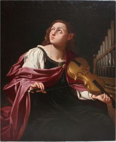 Cecilia - The Largest Art reproductions Center In Our website. Low Wholesale Prices Great Pricing Quality Hand paintings for saleLorenzo Pasinelli Santa Cecilia, Baroque Composers, Annibale Carracci, Italian Painters, Italian Art, Large Art, Beautiful Paintings, Art Reproductions, Art Music