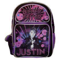 Justin Bieber Large Backpack