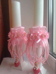Декорируем свечи — подарок на крещение для девочки. Обсуждение на LiveInternet - Российский Сервис Онлайн-Дневников