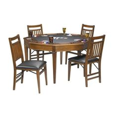 Colonial Folding Poker Table from Brunswick
