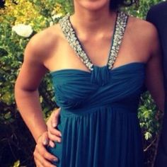 I just discovered this while shopping on Poshmark: prom dress! worn once. Check it out!  Size: 0